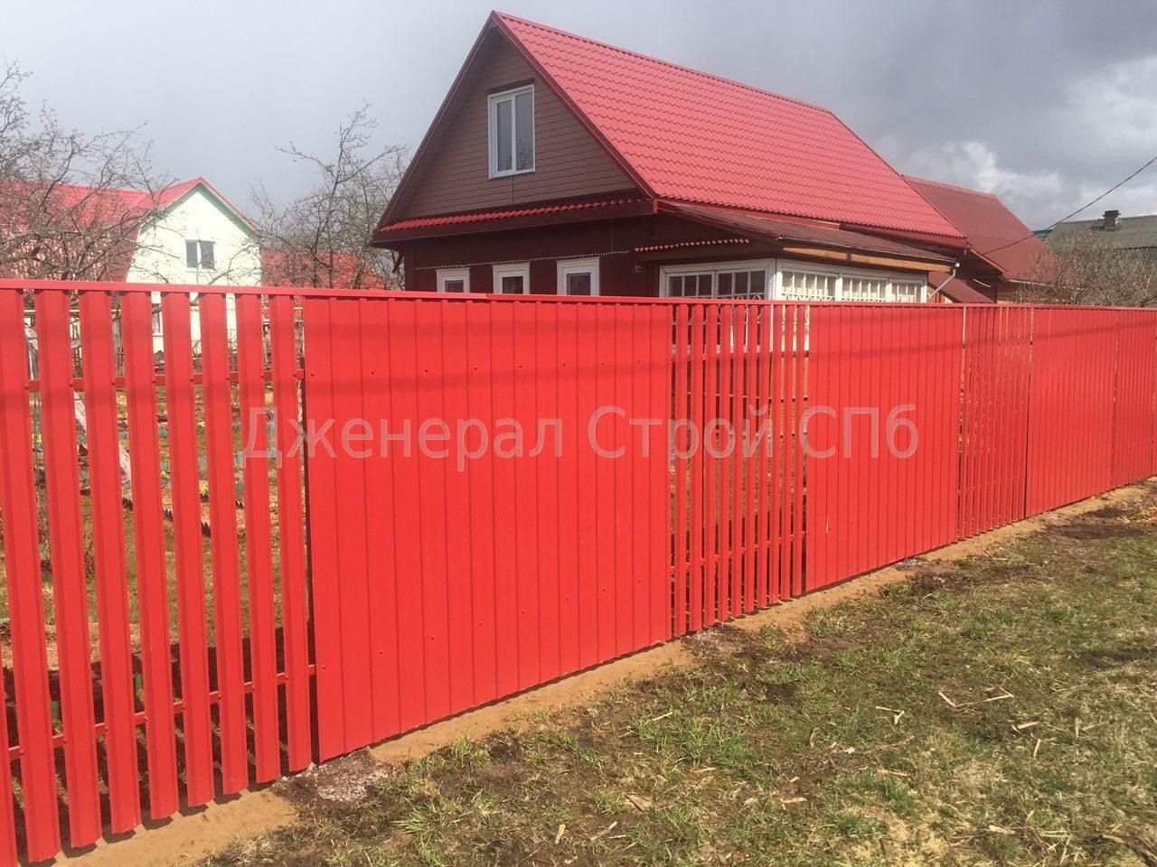 Сочетания цветов на забор фото